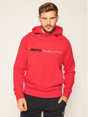 Musto Musto Bluză Evo Logo 82043 Roșu Regular Fit
