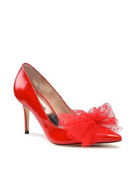 Custommade Custommade Pantofi cu toc subțire Aljo Bow 999622013 Roșu