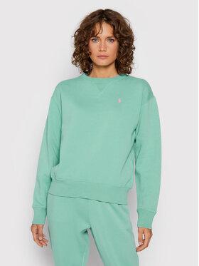 Polo Ralph Lauren Polo Ralph Lauren Sweatshirt 211794395015 Vert Regular Fit