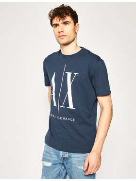 Armani Exchange Armani Exchange T-Shirt 8NZTPA ZJH4Z 1574 Dunkelblau Regular Fit