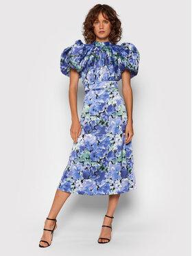 ROTATE ROTATE Koktejlové šaty Dawn Dress RT581 Fialová Regular Fit