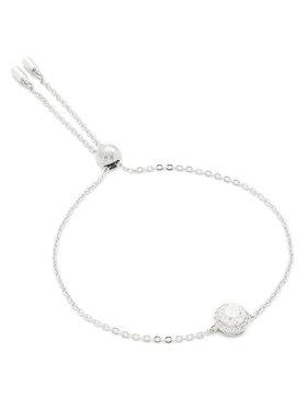 Swarovski Swarovski Bracciale Angelic Round Bracelet Rnd 5567934 Argento