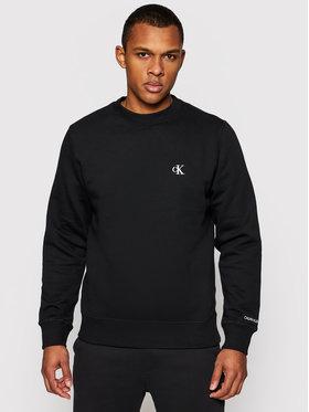 Calvin Klein Jeans Calvin Klein Jeans Sweatshirt Embroidered Logo J30J314536 Schwarz Regular Fit