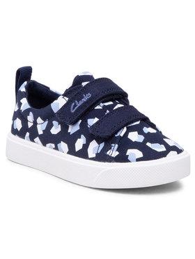 Clarks Clarks Πάνινα παπούτσια City Bright T 261490947 Σκούρο μπλε