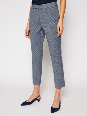 Weekend Max Mara Weekend Max Mara Pantaloni din material Onore 51310217 Albastru Slim Fit