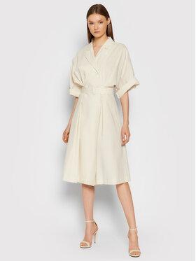 Imperial Imperial Sukienka koszulowa ABVNBGV Beżowy Regular Fit