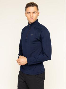 Descente Descente Bluză tehnică Piccard DWMOGB01 Bleumarin Regular Fit
