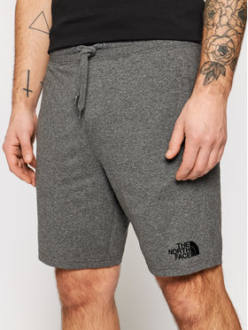 The North Face The North Face Pantaloncini sportivi Logo NF0A3824DYY1 Grigio Regular Fit