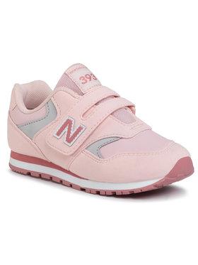 New Balance New Balance Laisvalaikio batai YV393CPK Rožinė