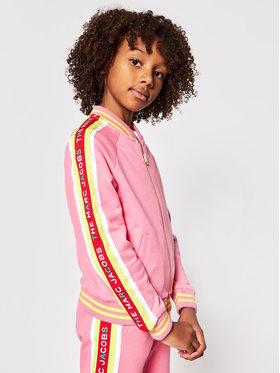 Little Marc Jacobs Little Marc Jacobs Majica dugih rukava W15553 S Ružičasta Regular Fit