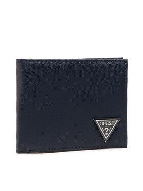 Guess Guess Velká pánská peněženka Certosa Slg SMCERT LEA24 Tmavomodrá