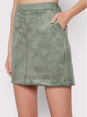 Vero Moda Vero Moda Spódnica mini Donnadina 10210430 Zielony Regular Fit