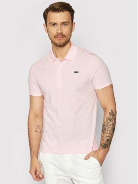 Lacoste Lacoste Polo marškinėliai YH4801 Rožinė Slim Fit