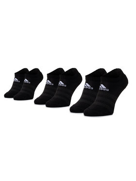adidas adidas Σετ 3 ζευγάρια κοντές κάλτσες unisex Cush Low 3PP DZ9385 Μαύρο