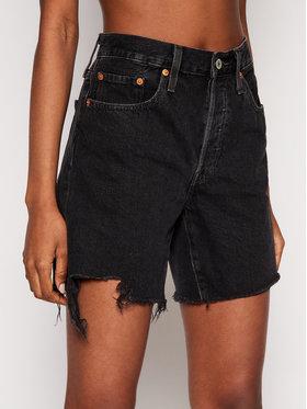 Levi's® Levi's® Szorty jeansowe 501™ 85833-0016 Czarny Regular Fit