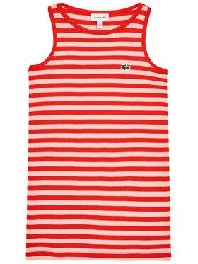 Lacoste Lacoste Ежедневна рокля EJ0258 Оранжев Regular Fit
