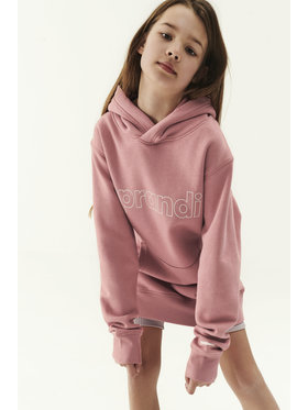 Sprandi Sprandi Sweatshirt SS21-BLK006 Rosa Regular Fit