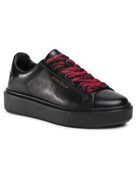 Woolrich Woolrich Sneakersy WFW202.573.3000 Čierna