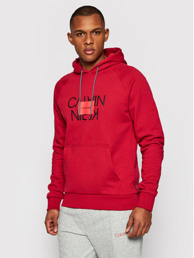 Calvin Klein Calvin Klein Bluză Text Reversed K10K106473 Roșu Regular Fit