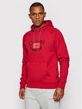 Calvin Klein Calvin Klein Mikina Text Reversed K10K106473 Červená Regular Fit