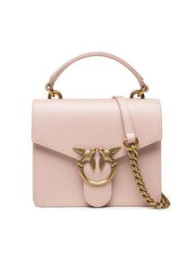 Pinko Pinko Дамска чанта Love Mini Top Handle Simply 4 Cl . AI 21-22 PLTT 1P22AK Y6XT Розов