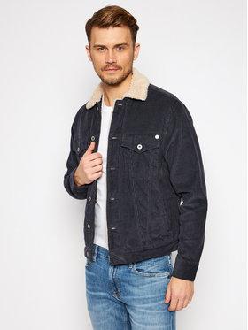 Pepe Jeans Pepe Jeans Bunda pro přechodné období Pinner Dlx PM401281 Tmavomodrá Regular Fit