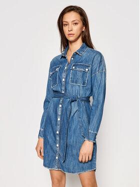 Guess Guess Džínsové šaty Salaya W1RK0 PD14LN Modrá Relaxed Fit