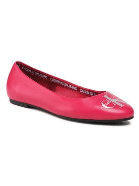 Calvin Klein Jeans Calvin Klein Jeans Μπαλαρίνες Ballerinas Printed Lth YW0YW00039 Ροζ