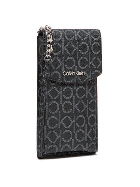 Calvin Klein Calvin Klein Torebka Phone Pouch Xbody Monogram K60K608119 Czarny