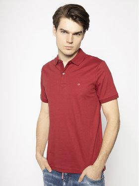 Calvin Klein Calvin Klein Polokošeľa Soft Interlock K10K105182 Červená Slim Fit