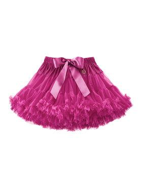 LaVashka LaVashka Spódnica 27-B Różowy Regular Fit
