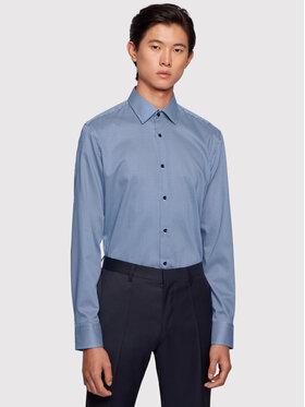 Boss Boss Košile Jango 50445380 Modrá Slim Fit