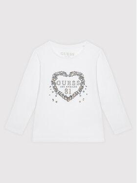 Guess Guess Μπλουζάκι K1BI10 J1311 Λευκό Regular Fit