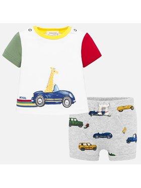 Mayoral Mayoral Completo T-shirt e pantaloncini 1276 Multicolore Regular Fit