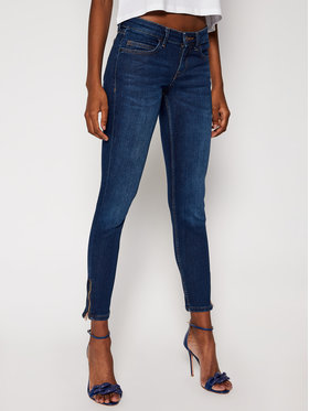 Guess Guess Jeansy Skinny Fit Marilyn 3 Zip W0BAB8 D4661 Granatowy Skinny Fit