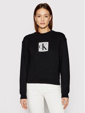 Calvin Klein Jeans Calvin Klein Jeans Felpa J20J215566 Nero Regular Fit