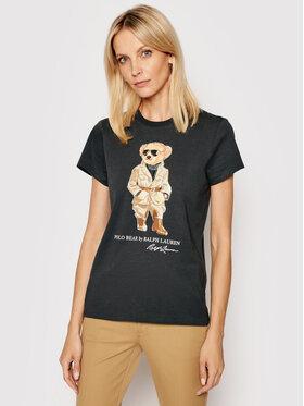 Polo Ralph Lauren Polo Ralph Lauren T-shirt Ssl 211839165002 Crna Regular Fit