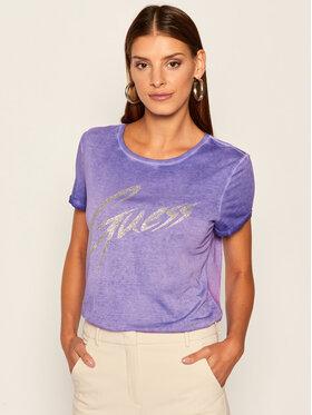 Guess Guess T-Shirt Ivonne W0YI24 K46D1 Fialová Regular Fit