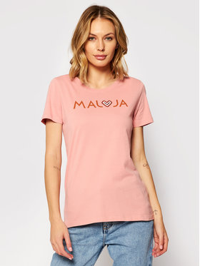 Maloja Maloja T-Shirt GatschiM. 30409-1-8317 Rosa Regular Fit
