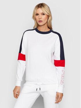 Fila Fila Sweatshirt Paulina 683427 Blanc Relaxed Fit