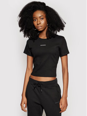 Calvin Klein Jeans Calvin Klein Jeans Tricou J20J215699 Negru Regular Fit