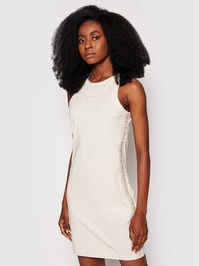 Calvin Klein Jeans Calvin Klein Jeans Ежедневна рокля Essentials J20J215681 Бежов Slim Fit