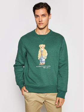 Polo Ralph Lauren Polo Ralph Lauren Pulóver Magic Fleece 710829165003 Zöld Regular Fit