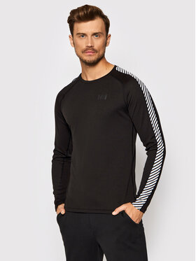 Helly Hansen Helly Hansen Funkčné tričko Lifa Active Stripe Crew 49412 Čierna Regular Fit