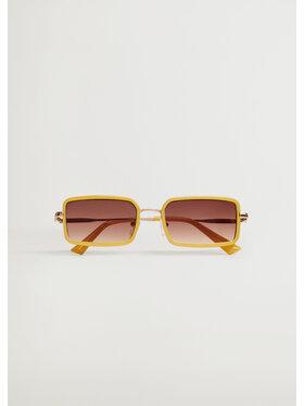 Mango Mango Okulary przeciwsłoneczne Callie 87035683 Żółty