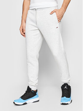 Tommy Jeans Tommy Jeans Spodnie dresowe DM0DM11163 Szary Slim Fit