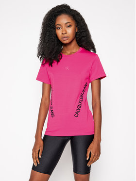 Calvin Klein Jeans Calvin Klein Jeans Póló J20J214779 Rózsaszín Regular Fit