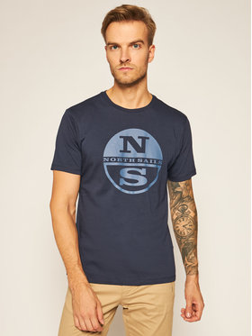 North Sails North Sails Tricou Graphic 692581 Bleumarin Regular Fit