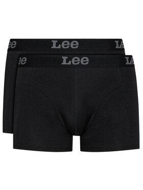 Lee Lee Комплект 2 чифта боксерки LP03CK01 Черен
