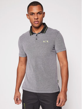 Armani Exchange Armani Exchange Polo 3KZFAC ZJKUZ 6259 Grigio Regular Fit